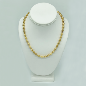"14k Gold Beaded 18"" Necklace"