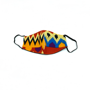 Christopher Augmon CA Kids Africa Mask (any 4 100% cotton mask for $100; specify type in special instruction)