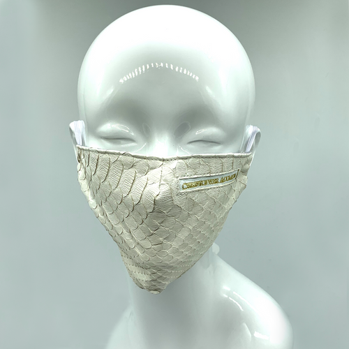 Christopher Augmon CA White Mamba Python Mask