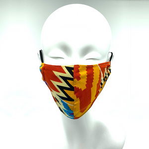 Christopher Augmon CA Africa Mask (any 4 100% cotton mask for $100; specify type in special instruction)