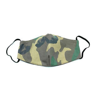 Christopher Augmon CA Big Camouflage Mask (any 4 100% cotton mask for $100; specify type in special instruction)