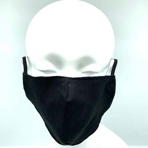 Christopher Augmon CA Black Mask (any 4 100% cotton mask for $100; specify type in special instruction)