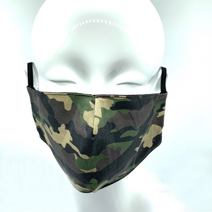 Christopher Augmon CA Small Camouflage Mask (any 4 100% cotton mask for $100; specify type in special instruction)