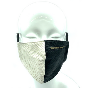 CA  Christopher Augmon Equality Black and White Mamba Python Mask