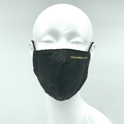 Christopher Augmon CA Black Mamba Python Mask