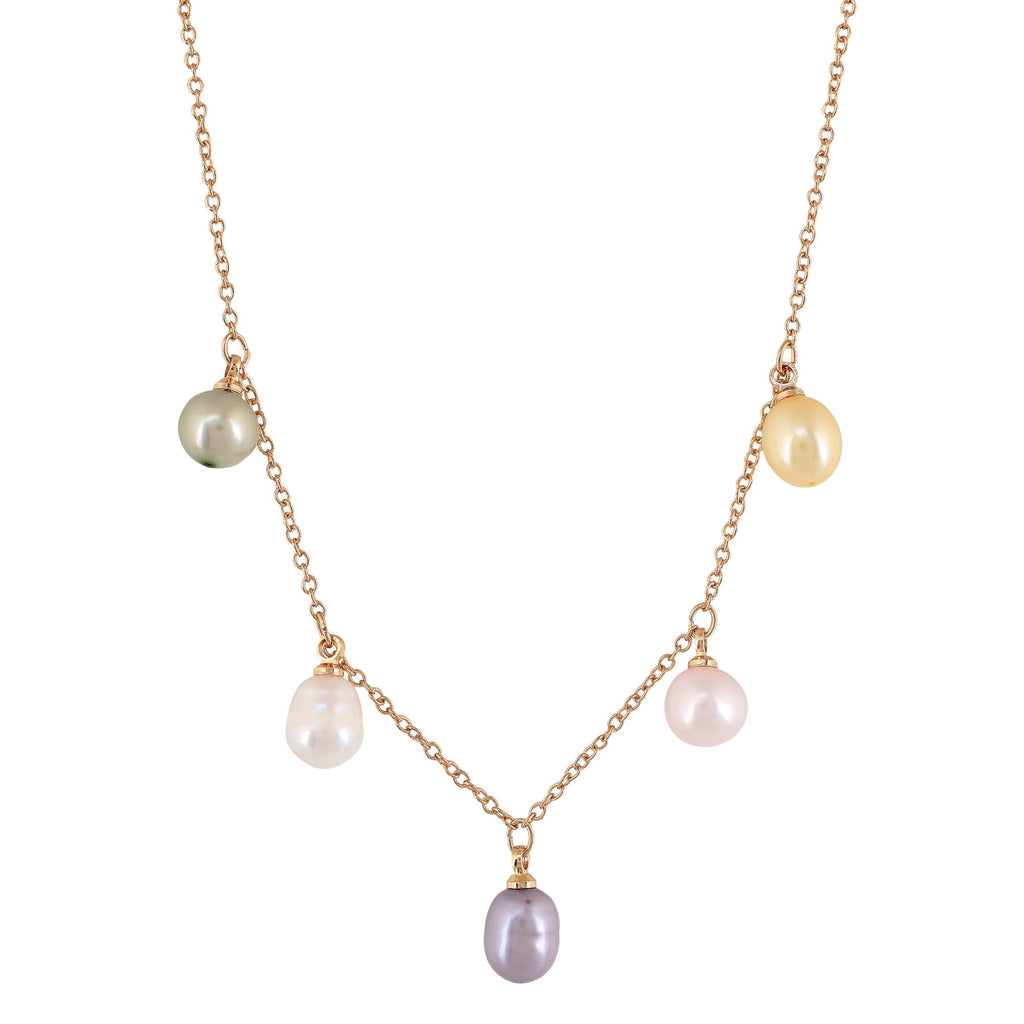 'CABO' COLORED FRESHWATER PEARLS NECKLACE