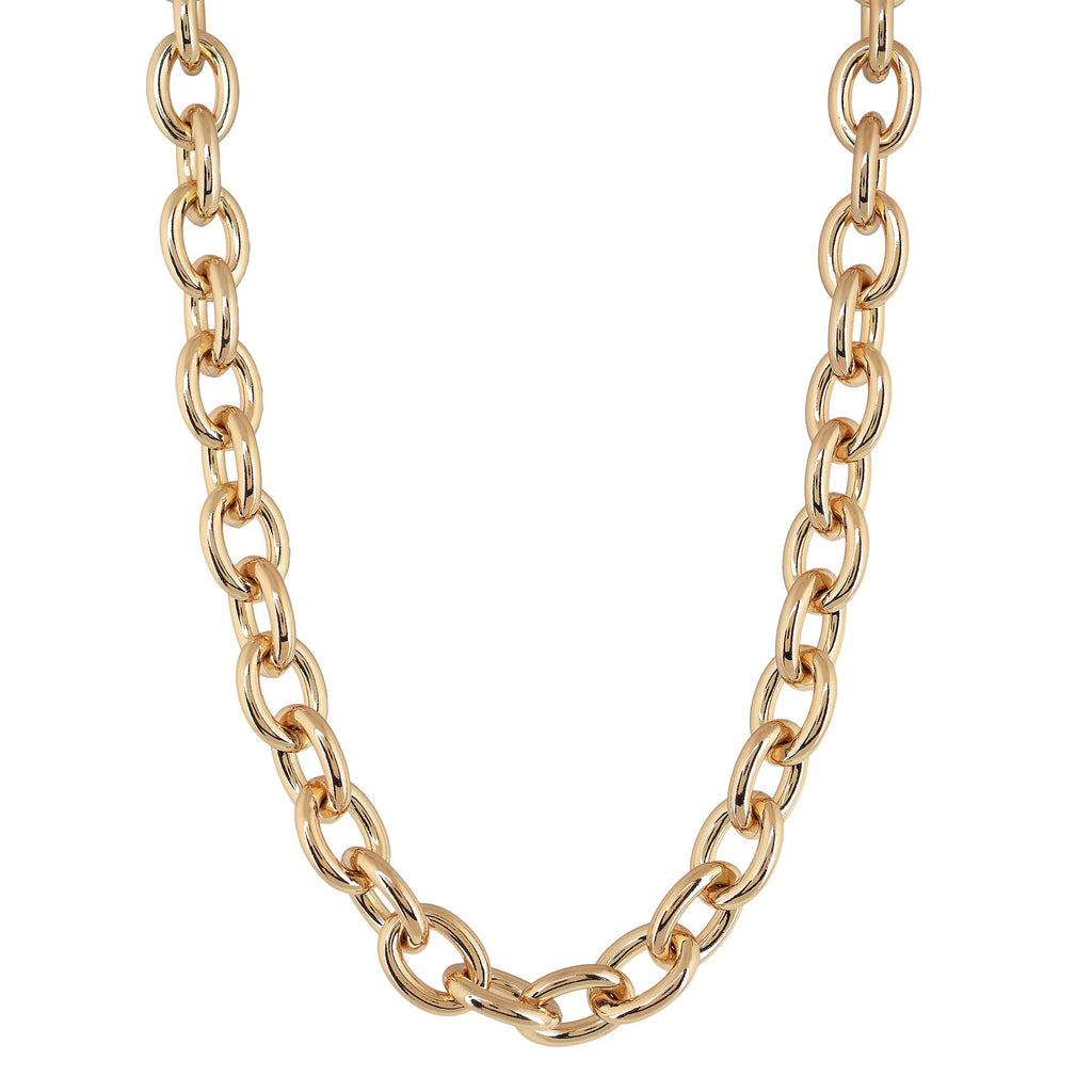 """BOSCO MINI"" THICK CHAIN NECKLACE"