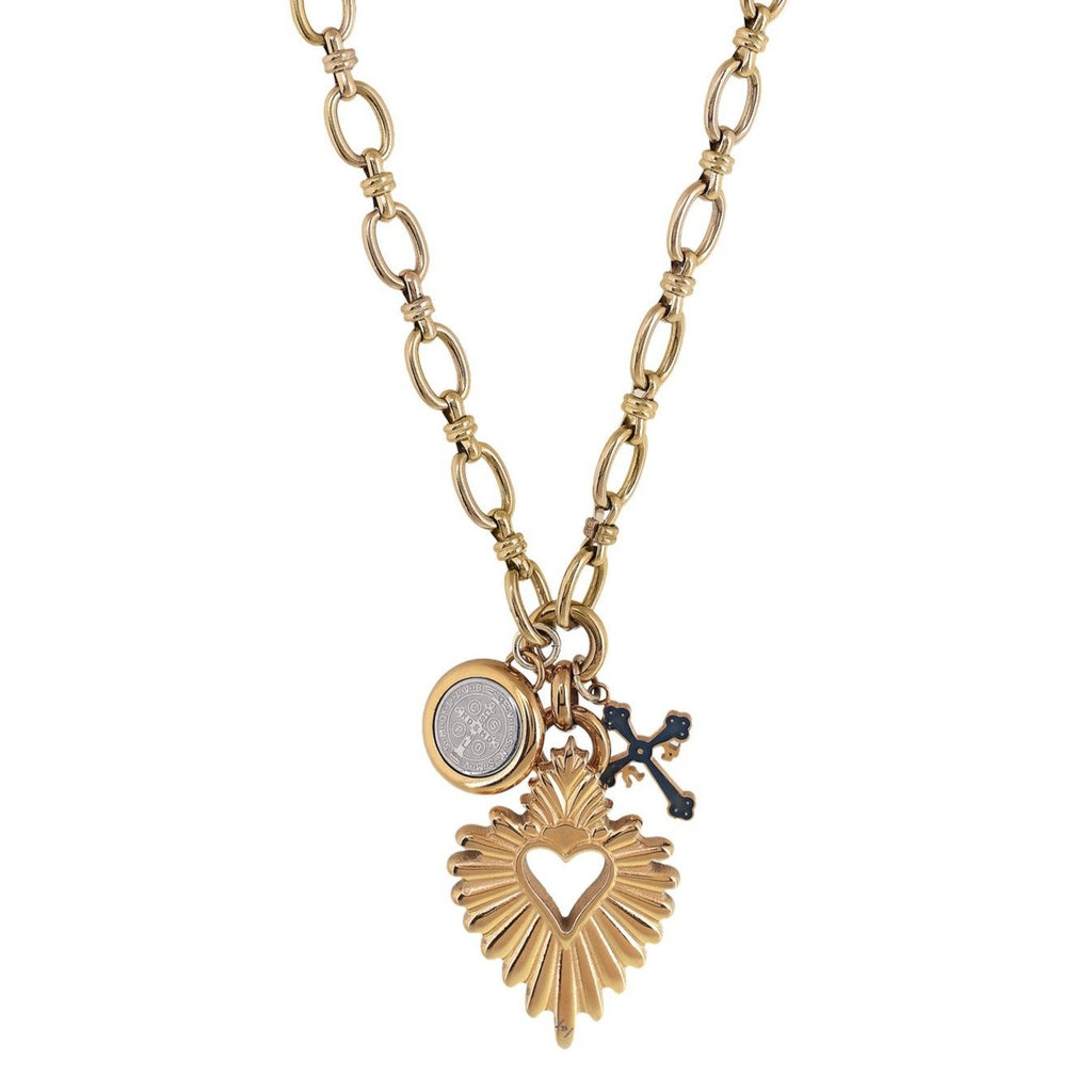 'DETENTE' SACRED HEART NECKLACE *Pre Order*