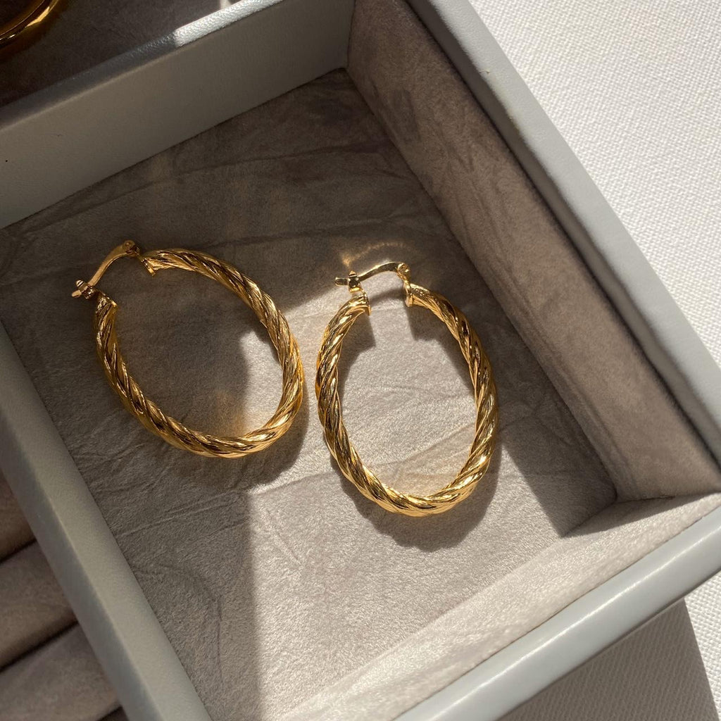 Other stories earring hoops