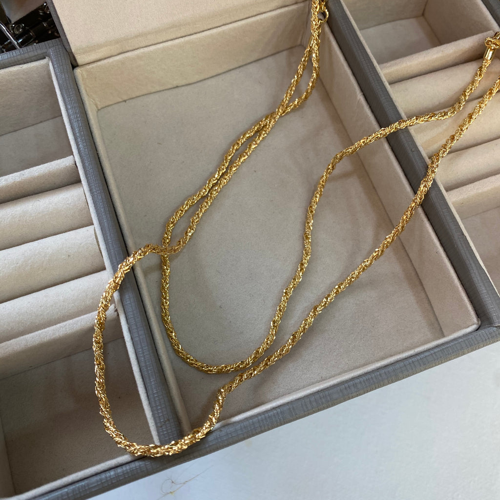 Rope Goldfilled Necklace