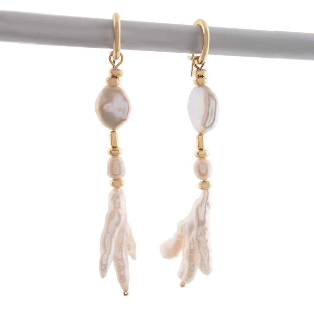'Arianna' PEARLS DROP EARRINGS