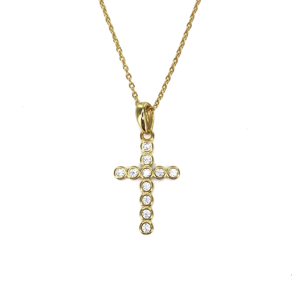 'TIPPI' CROSS NECKLACE