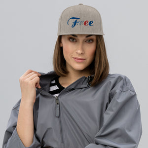 Fancy F.r.e.e snapback hat