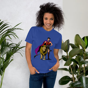 F.r.e.e queen with pet t-shirt