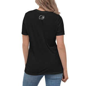 F.r.e.e women's relaxed training black t-shirt