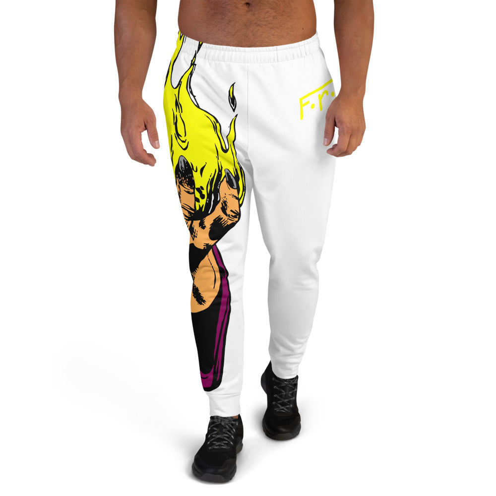 F.r.e.e ball of fire men joggers