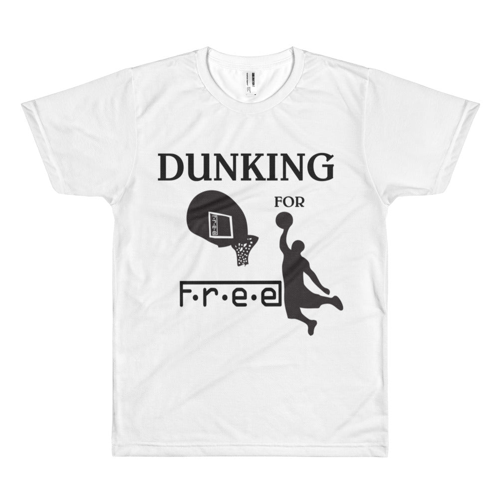 F.R.E.E dunking men's t-shirt