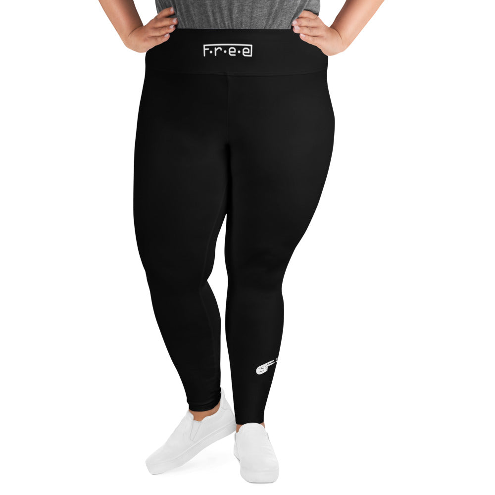 F.R.E.E plus size leggings