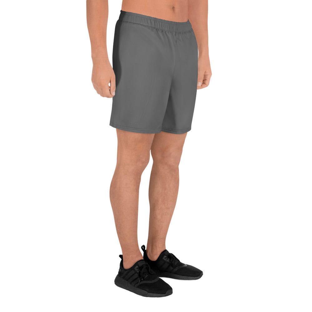Dark grey free Men's Athletic Long Shorts