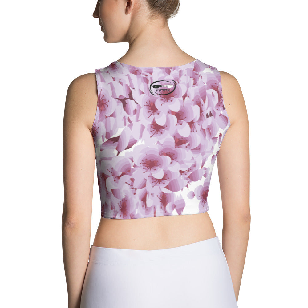 Sublimation Cut & Sew Crop Top