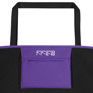F.R.E.E customized beach bag