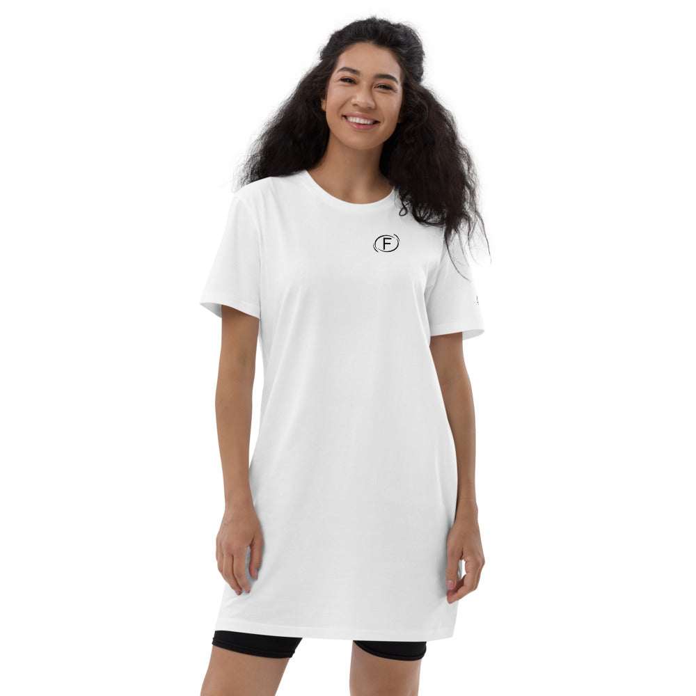F.r.e.e F circle organic cotton t-shirt dress
