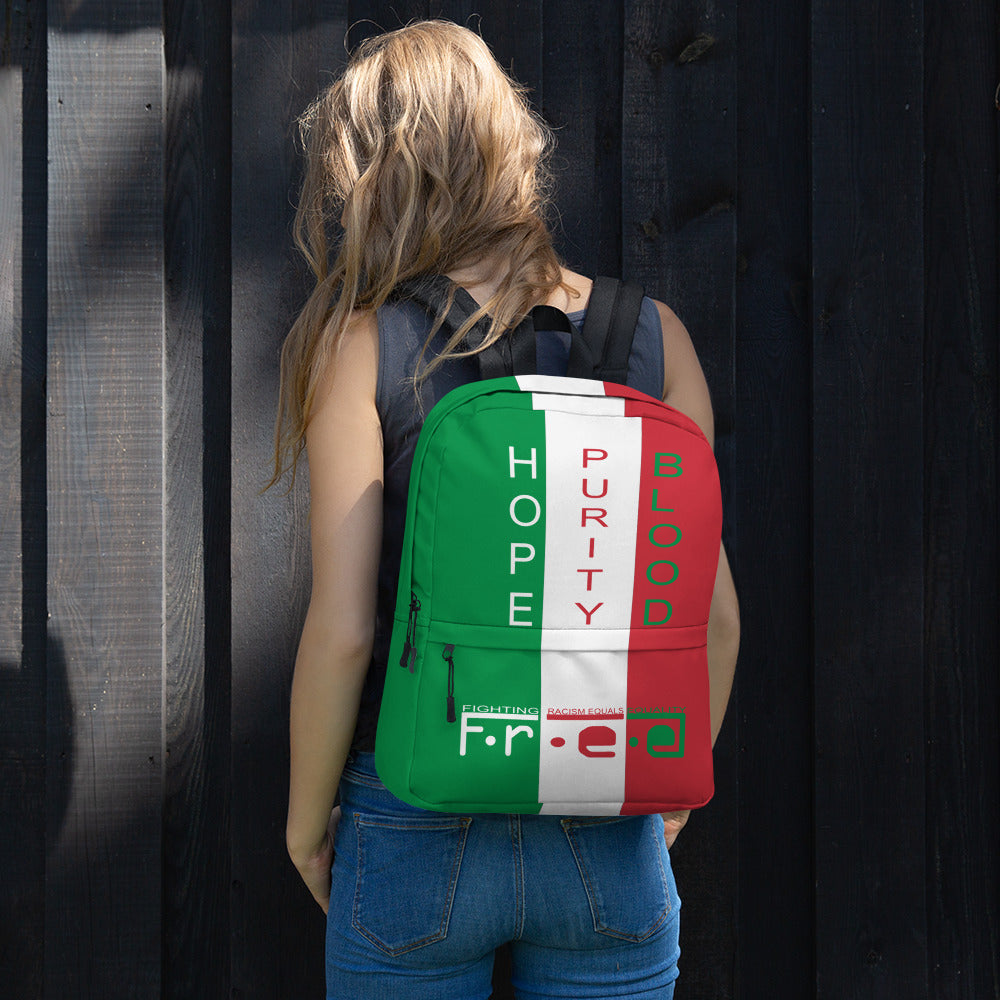 F.R.E.E Mexico friendly backpack