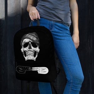 F.R.E.E black skull backpack