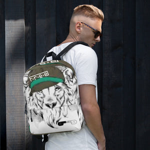 F.R.E.E lion free cap backpack