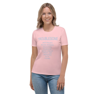 F.r.e.e women's Troublesome t -shirt