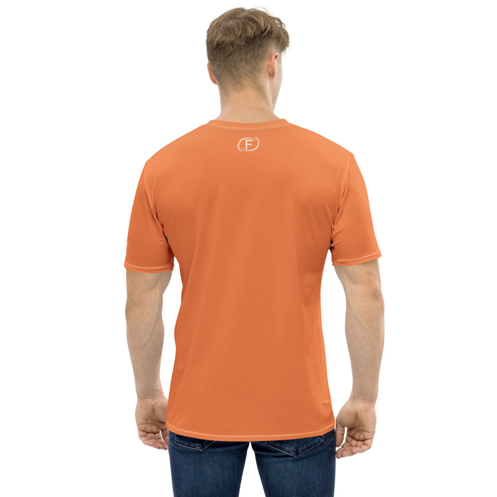 F.r.e.e more than an athlete orange men's t-shirt