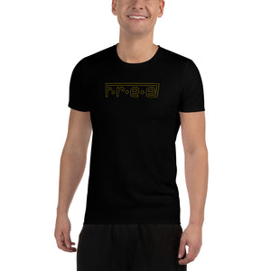 F.R.E.E men's athletic t-shirt