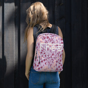 F.R.E.E pink and purple backpack