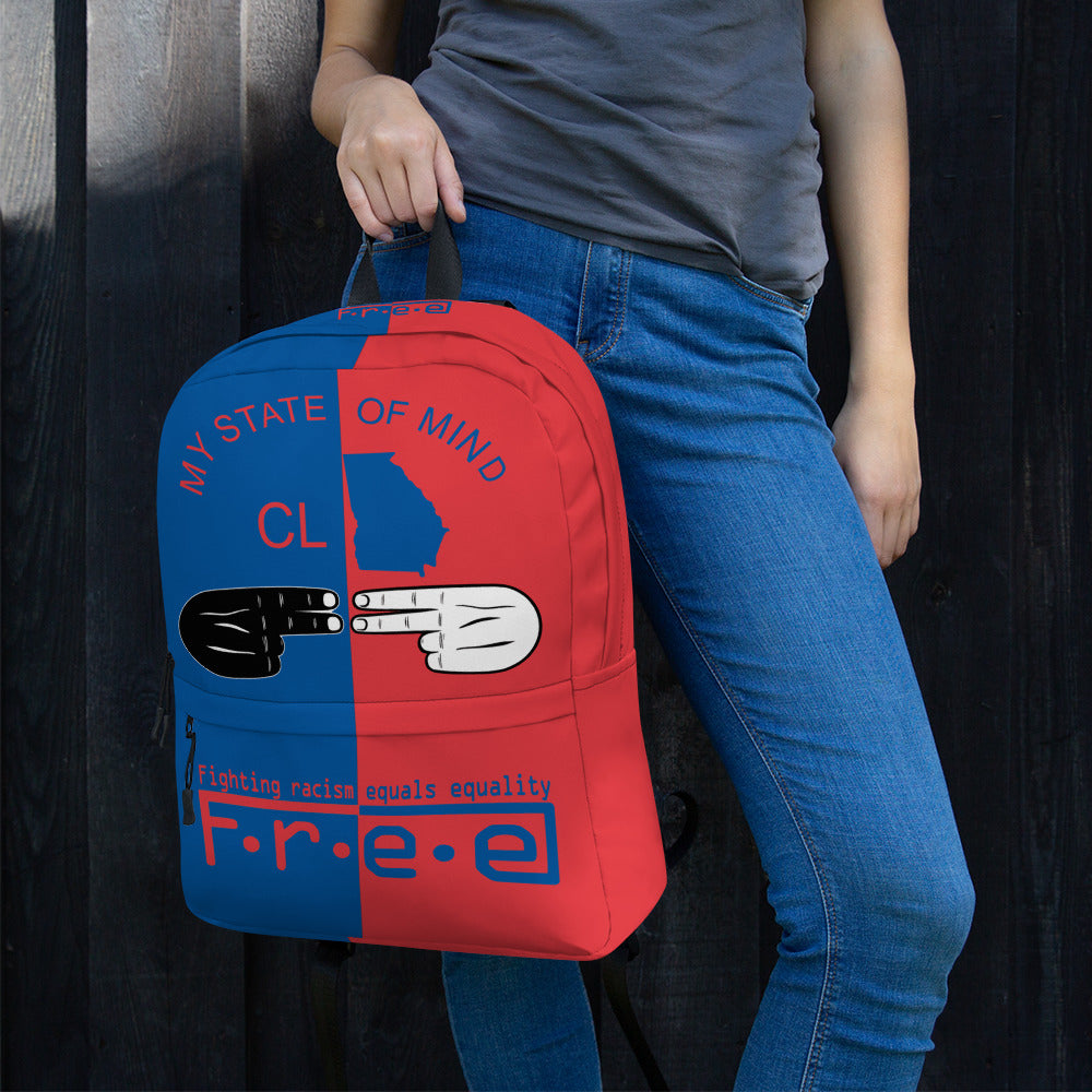 F.R.E.E customized backpack