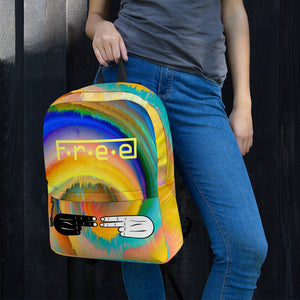 F.R.E.E colorfull backpack