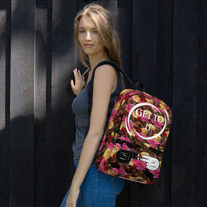 F.R.E.E flower get to it backpack