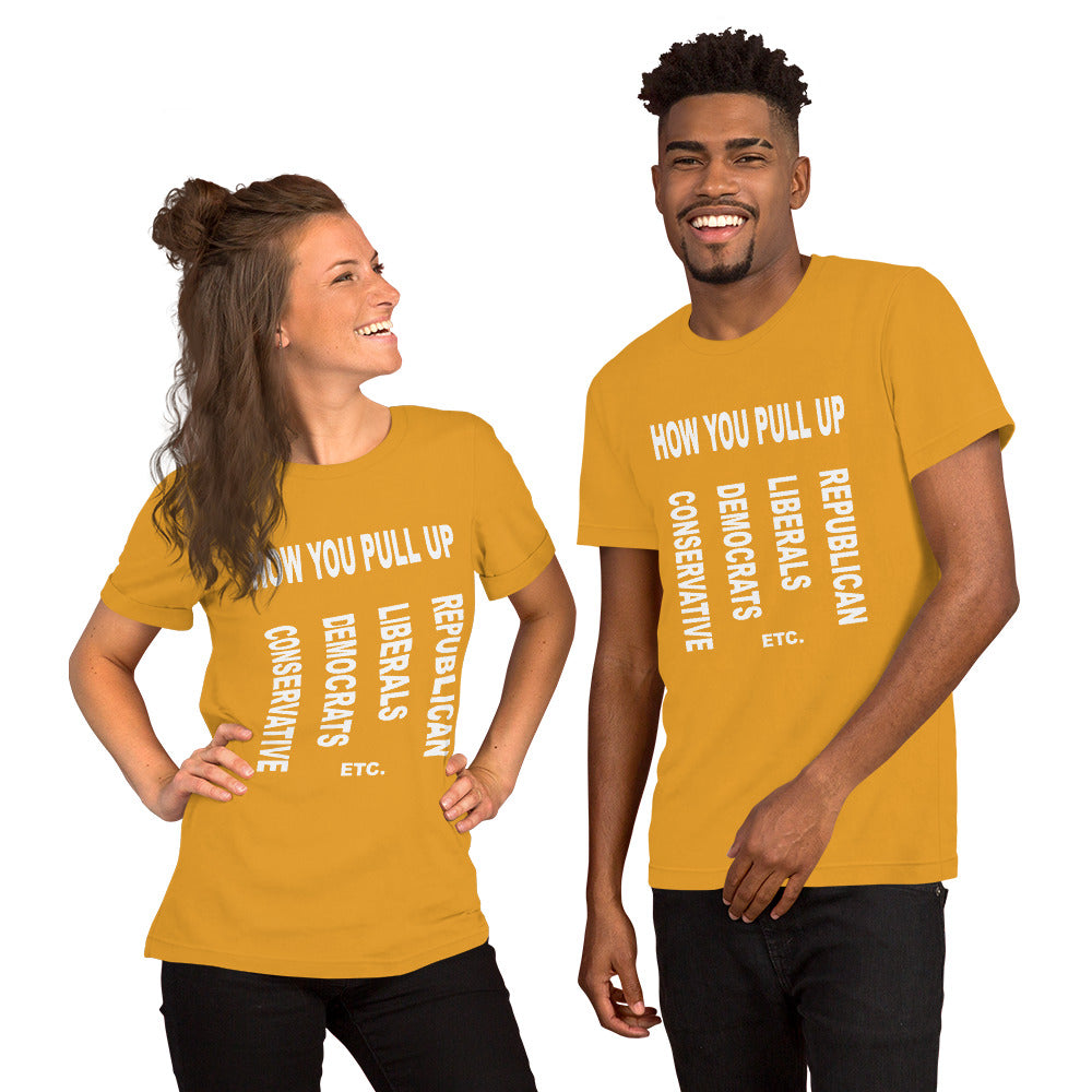 F.r.e.e how you unisex t-shirt
