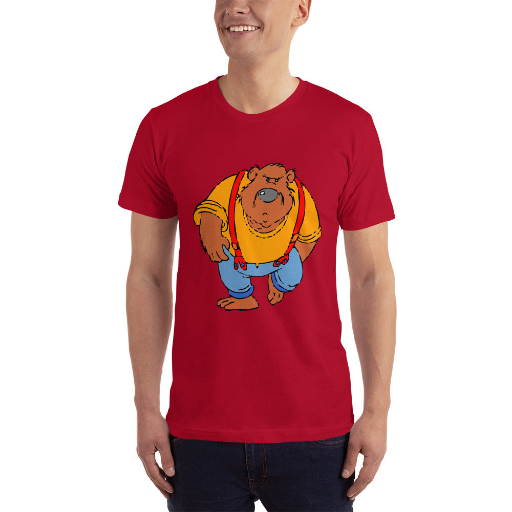 F.r.e.e walking bear t-shirt