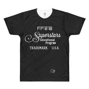 F.R.E.E superstars men's t-shirt
