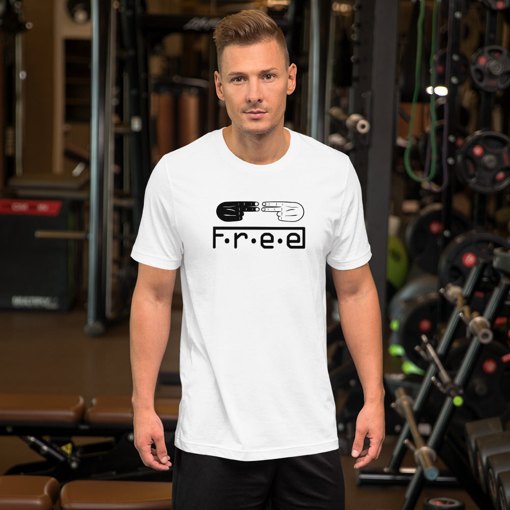 F.r.e.e and hands unisex T-Shirt