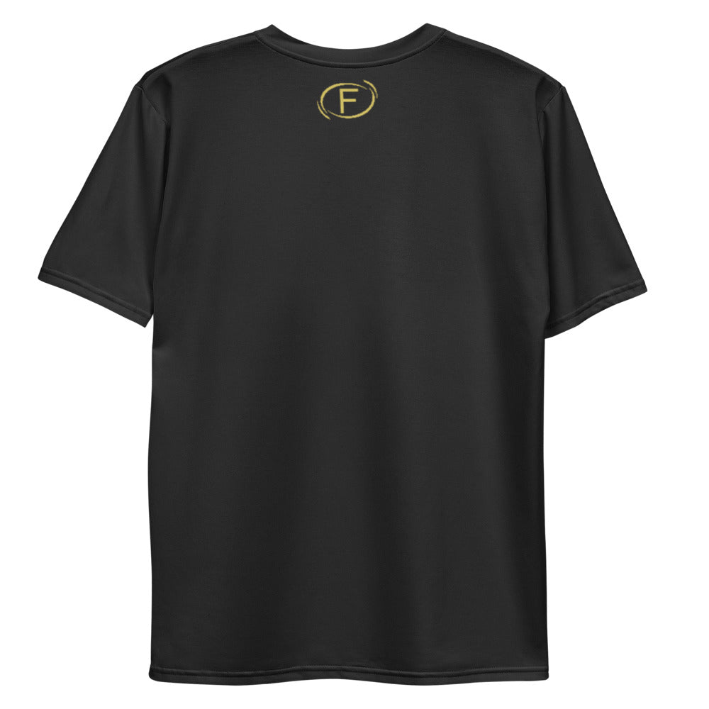 F.r.e.e get to it gold hands men's t-shirt
