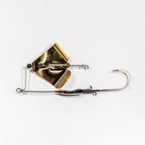 Head Knocker X Bite Buzzbait Black/Gold Blade
