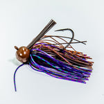 Football Jig - Brown & Purple Scale