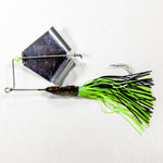 Head Knocker Black/Black & Chartreuse/Silver Blade