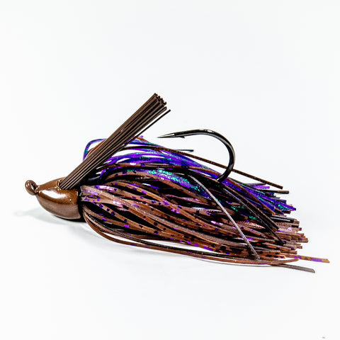 Zapper Jig - Brown & Purple Scale