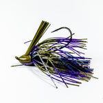 Zapper Jig - Green Pumpkin & Purple