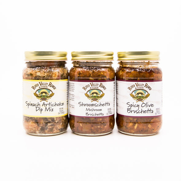 "River Valley Kitchens ""Farm Fresh"" Bruschetta and Dips 16oz (available in 3 flavors)"