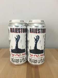 Hailstorm Brewing Night of the Undead 4 pack 16oz Cans (Available for local delivery only.  Must be 21 or over with valid ID upon delivery.)