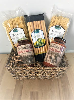 """Pasta Lovers"" Gift Basket"