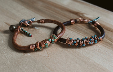 Art in the Garage - Leather Bracelet Making at Peace Marketplace